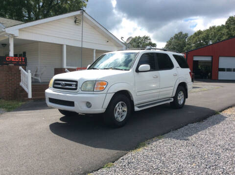 2002 Toyota Sequoia for sale at Ace Auto Sales - $1800 DOWN PAYMENTS in Fyffe AL