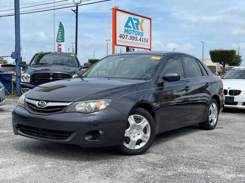 2011 Subaru Impreza for sale at Ark Motors LLC in Orlando FL