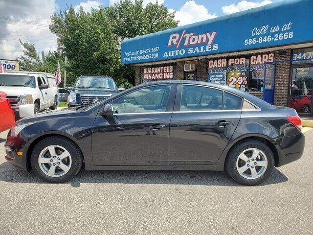 2016 Chevrolet Cruze Limited for sale at R Tony Auto Sales in Clinton Township MI