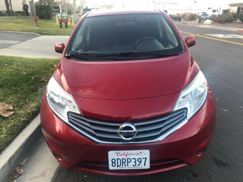 2014 Nissan Versa Note for sale at Faith Auto Sales in Temecula CA