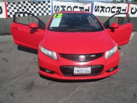 2012 Honda Civic for sale at Quick Auto Sales in Modesto CA