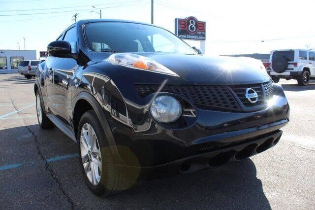 2013 Nissan JUKE for sale at B & B Car Co Inc. in Clinton Twp MI