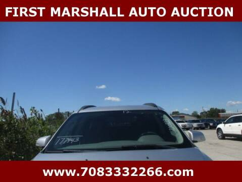 2012 Chevrolet Traverse for sale at First Marshall Auto Auction in Harvey IL