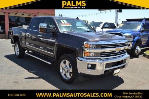 2015 Chevrolet Silverado 2500HD for sale at Palms Auto Sales in Citrus Heights CA