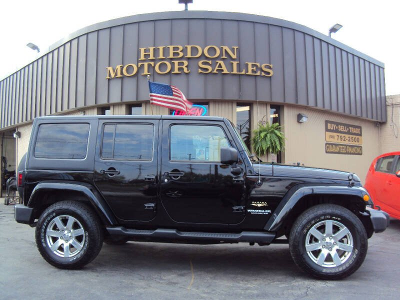 2013 Jeep Wrangler Unlimited for sale at Hibdon Motor Sales in Clinton Township MI
