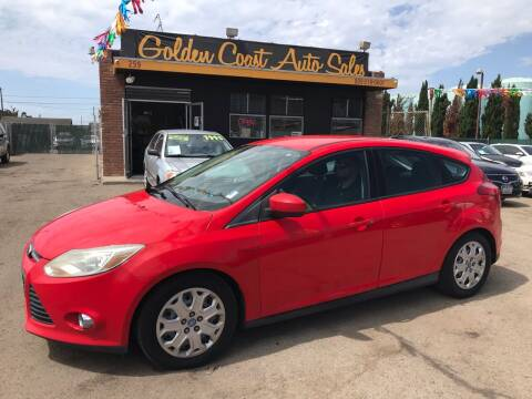 2012 Ford Focus for sale at Golden Coast Auto Sales in Guadalupe CA