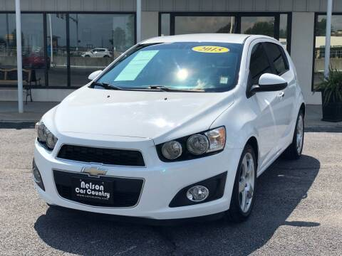 2015 Chevrolet Sonic for sale at Nelson Car Country in Bixby OK