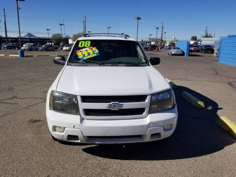 2008 Chevrolet TrailBlazer for sale at CAMEL MOTORS in Tucson AZ