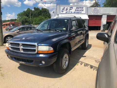 2003 Dodge Durango for sale at AFFORDABLE USED CARS in Richmond VA