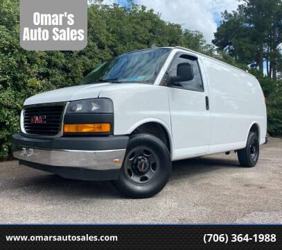 2019 GMC Savana Cargo for sale at Omar's Auto Sales in Martinez GA