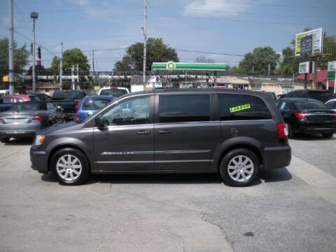 2015 Chrysler Town and Country for sale at Bob Boruff Auto Sales in Kokomo IN