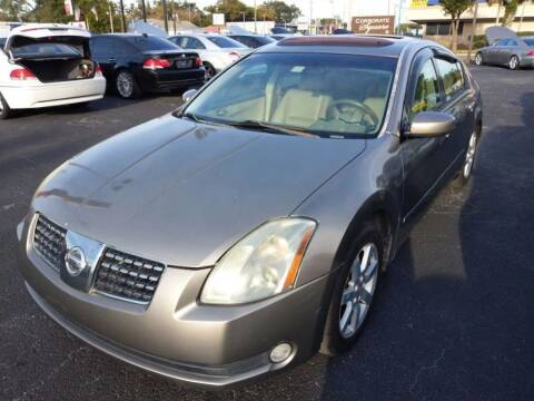 2005 Nissan Maxima for sale at Tony's Auto Sales in Jacksonville FL