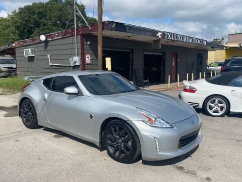 2015 Nissan 370Z for sale at Texas Luxury Auto in Houston TX