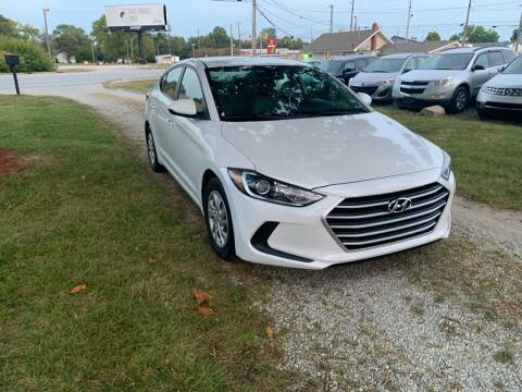 2017 Hyundai Elantra for sale at Quality Motors Inc in Indianapolis IN