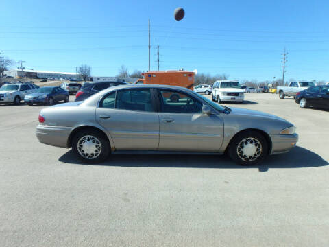 2001 Buick LeSabre for sale at BLACKWELL MOTORS INC in Farmington MO