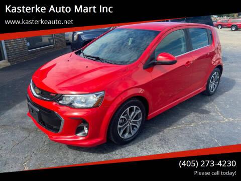 2017 Chevrolet Sonic for sale at Kasterke Auto Mart Inc in Shawnee OK