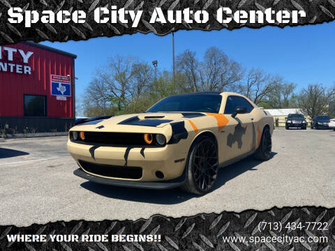 2015 Dodge Challenger for sale at Space City Auto Center in Houston TX