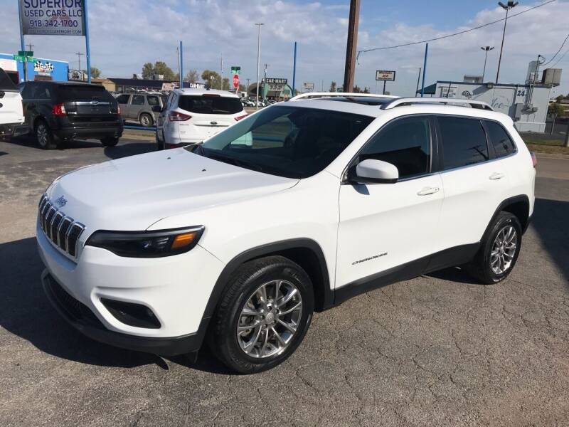 2019 Jeep Cherokee for sale at Superior Used Cars LLC in Claremore OK