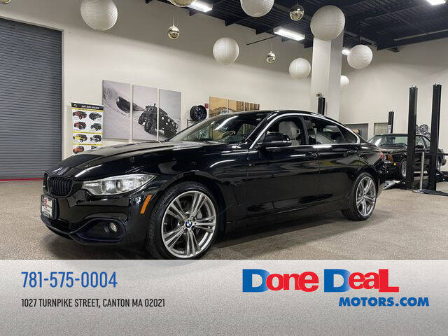 2016 BMW 4 Series for sale at DONE DEAL MOTORS in Canton MA