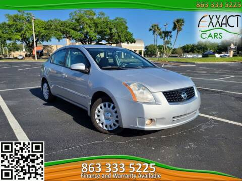 2008 Nissan Sentra for sale at Exxact Cars in Lakeland FL