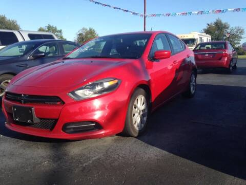 2014 Dodge Dart for sale at EAGLE ONE AUTO SALES in Leesburg OH