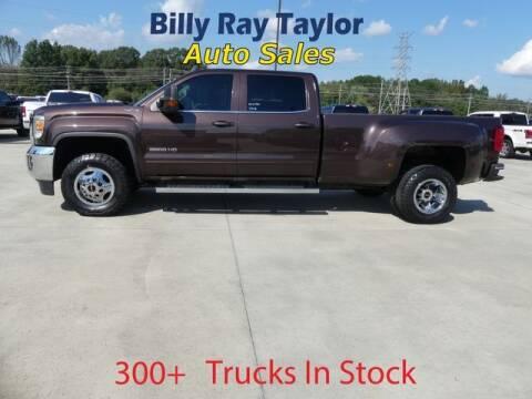 2016 GMC Sierra 3500HD for sale at Billy Ray Taylor Auto Sales in Cullman AL