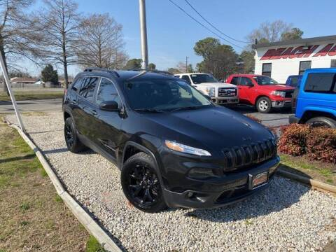 2016 Jeep Cherokee for sale at Beach Auto Brokers in Norfolk VA
