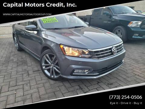 2016 Volkswagen Passat for sale at Capital Motors Credit, Inc. in Chicago IL