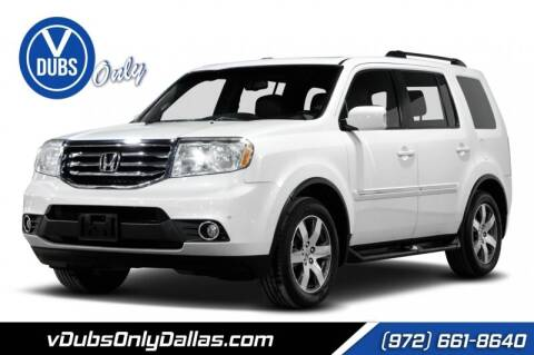 2012 Honda Pilot for sale at VDUBS ONLY in Dallas TX