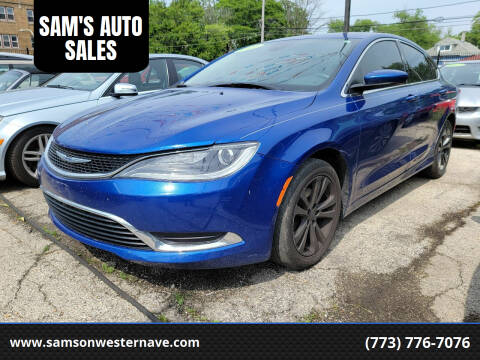 2015 Chrysler 200 for sale at SAM'S AUTO SALES in Chicago IL
