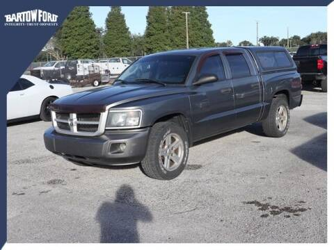 2008 Dodge Dakota for sale at BARTOW FORD CO. in Bartow FL