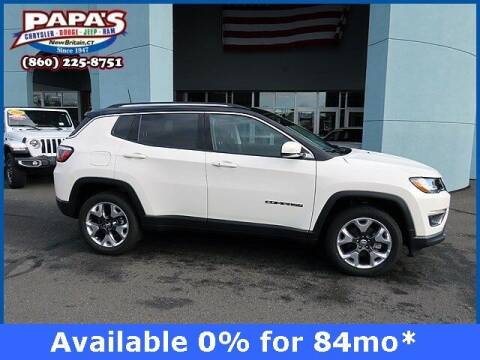 2021 Jeep Compass for sale at Papas Chrysler Dodge Jeep Ram in New Britain CT