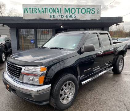 2004 GMC Canyon for sale at International Motors Inc. in Nashville TN