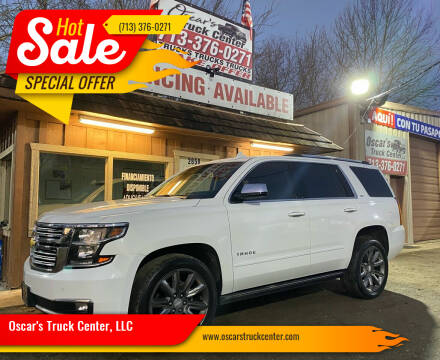 2016 Chevrolet Tahoe for sale at Oscar's Truck Center, LLC in Houston TX