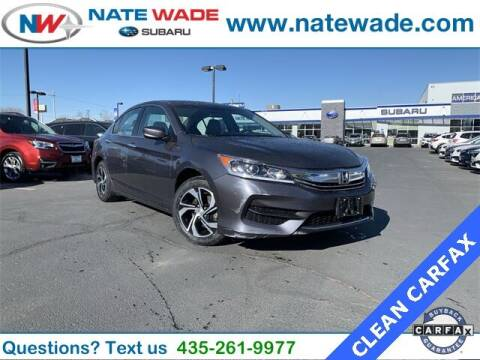 2017 Honda Accord for sale at NATE WADE SUBARU in Salt Lake City UT