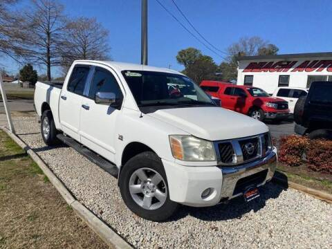 2004 Nissan Titan for sale at Beach Auto Brokers in Norfolk VA