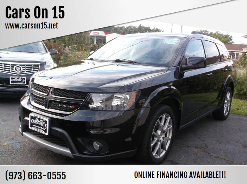 2014 Dodge Journey for sale at Cars On 15 in Lake Hopatcong NJ