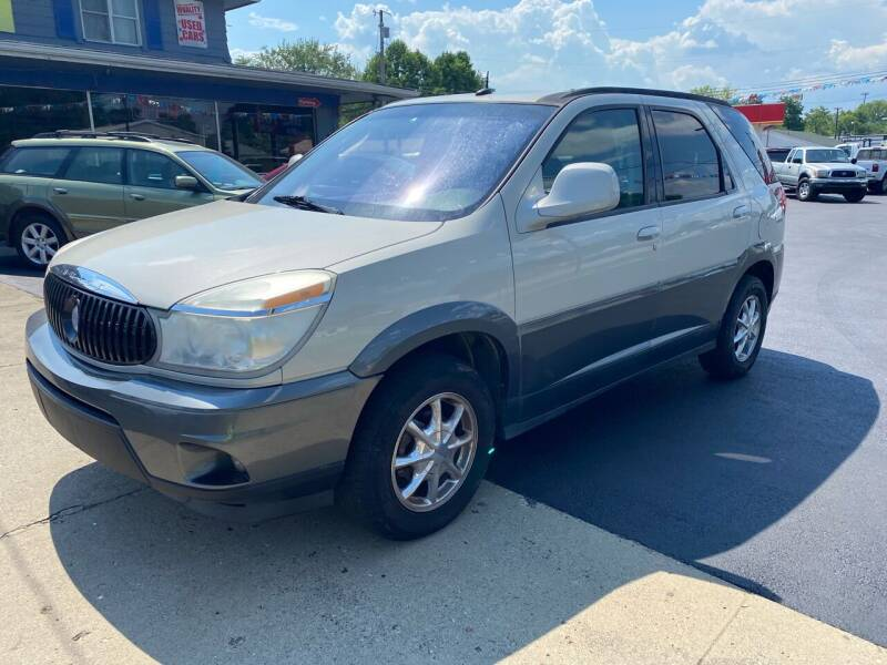 2004 Buick Rendezvous for sale at Wise Investments Auto Sales in Sellersburg IN