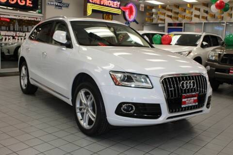 2015 Audi Q5 for sale at Windy City Motors in Chicago IL