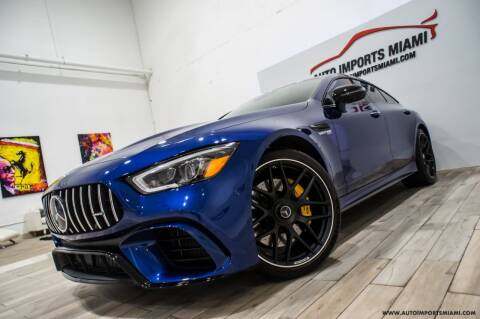 2019 Mercedes-Benz AMG GT for sale at AUTO IMPORTS MIAMI in Fort Lauderdale FL