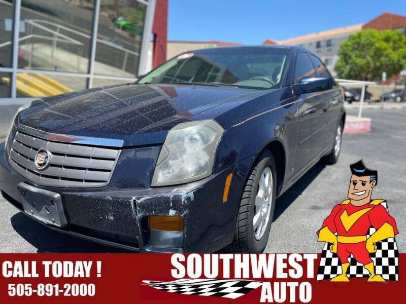 2006 Cadillac CTS for sale at SOUTHWEST AUTO in Albuquerque NM