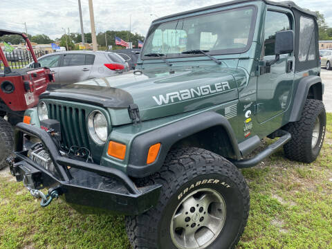 1999 Jeep Wrangler for sale at Budget Motorcars in Tampa FL