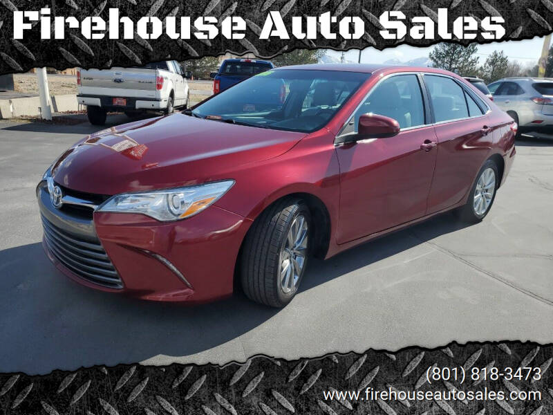2016 Toyota Camry Hybrid for sale at Firehouse Auto Sales in Springville UT