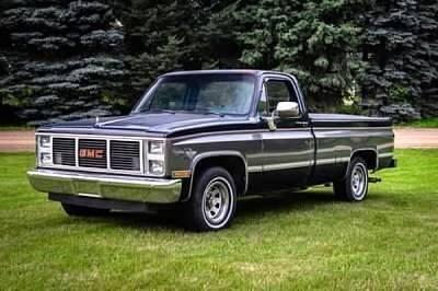 1987 GMC Sierra 1500HD Classic for sale at Classic Car Deals in Cadillac MI
