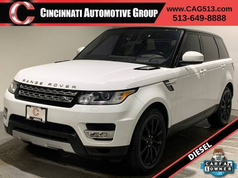 2016 Land Rover Range Rover Sport for sale at Cincinnati Automotive Group in Lebanon OH