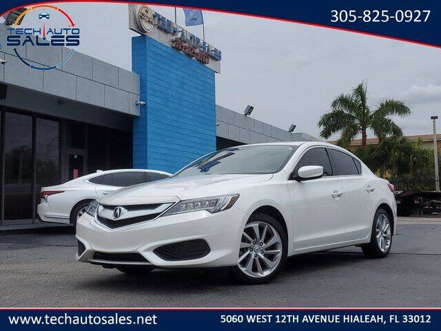 2018 Acura ILX for sale at Tech Auto Sales in Hialeah FL