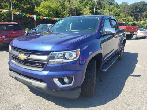 2016 Chevrolet Colorado for sale at Mulligan's Auto Exchange LLC in Paxinos PA