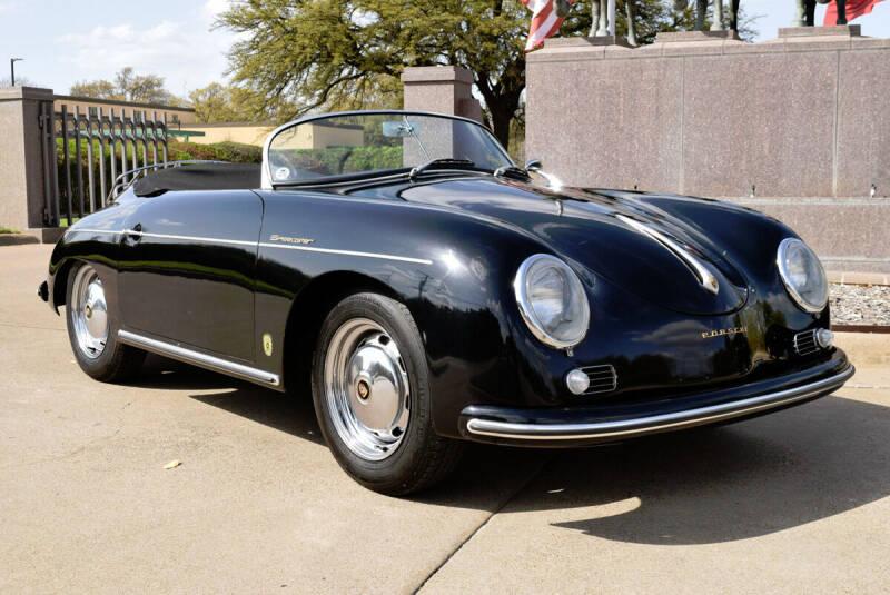 1959 Porsche 356 Speedster for sale at European Motor Cars LTD in Fort Worth TX