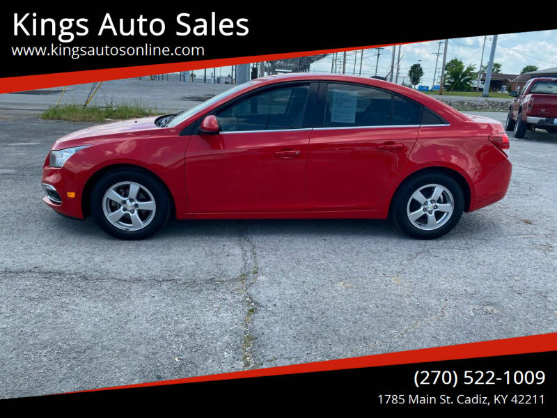 2016 Chevrolet Cruze Limited for sale at Kings Auto Sales in Cadiz KY