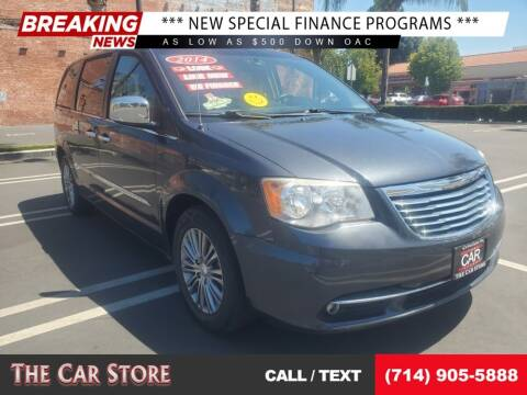 2014 Chrysler Town and Country for sale at The Car Store in Santa Ana CA